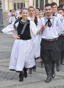 Volkstanz in Sibiu