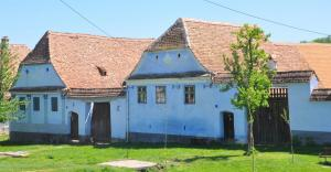 Restauriertes Haus in Viscri